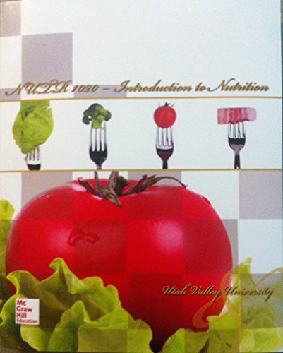 9781259344046: NUTR 1020: Introduction to Nutrition W/CONNECTPLUS