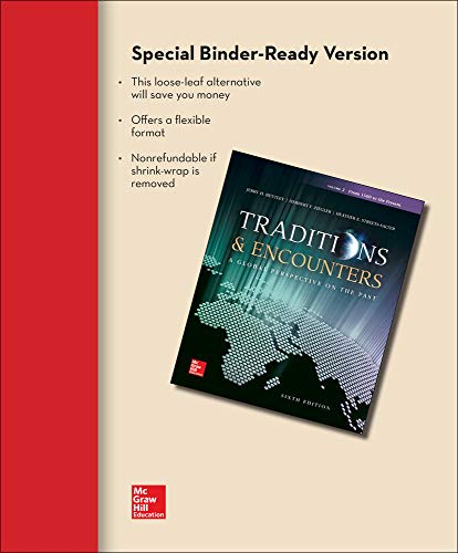 9781259345197: Looseleaf for Traditions & Encounters, Volume 2: from 1500 to the Present