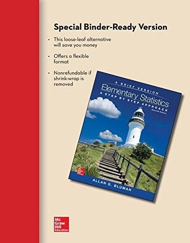 9781259345319: Loose Leaf Elementary Statistics: A Brief Version with Formula Card