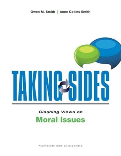 9781259345784: Taking Sides: Clashing Views on Moral Issues, Expanded