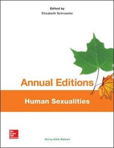 9781259346132: Annual Editions: Human Sexualities, 35/e (Annual Editions Human Sexuality)