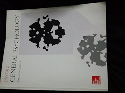 9781259346378: General Psychology