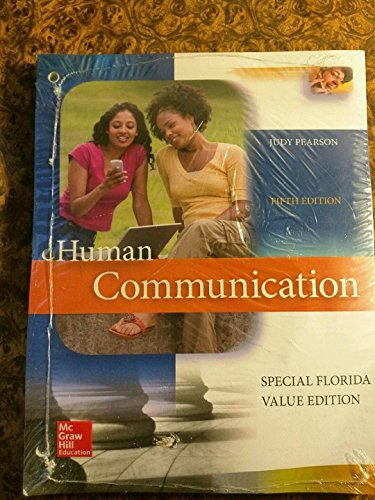9781259346798: Human Communication 5th Edition Special Florida Value Edition