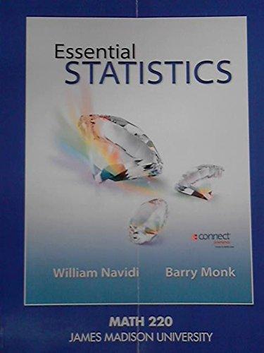 9781259348167: Essential Statistics