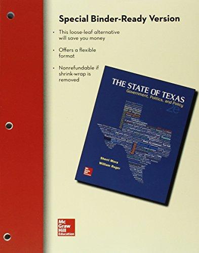 9781259349713: Looseleaf The State of Texas, 2E