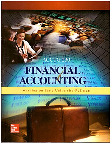 9781259351204: Financial Accounting for WSU ACCTG 230