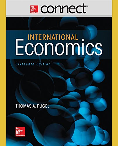 9781259356445: Connect Access Card with International Economics