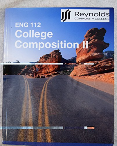 9781259356650: ENG 112 College Composition II JSRCC