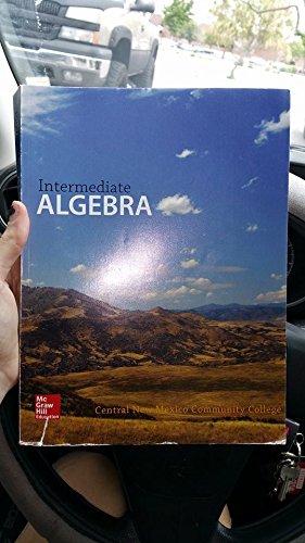 9781259358166: Intermediate Algebra Cnm Custom