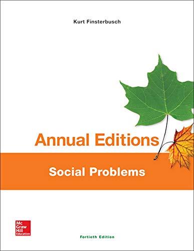 9781259359590: Annual Editions: Social Problems, 40/e