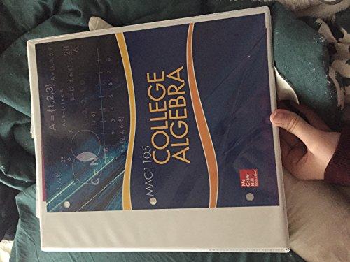 9781259359873: College Algebra MAC1105 (Aleks Included)
