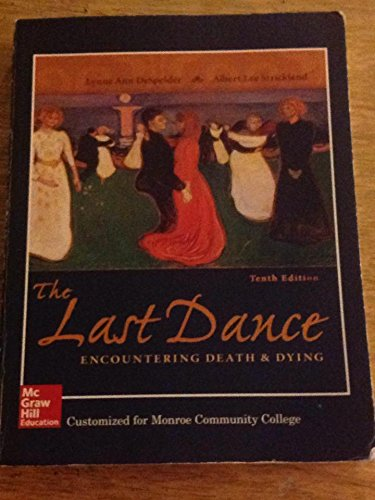 9781259360343: Last Dance Customized for Monroe Community College