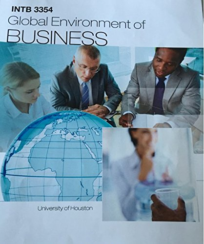 9781259360466: Global Environment of Business