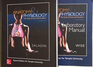 Anatomy & Physiology (Custom Edition for Temple University): Saladin