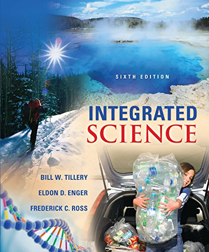 Combo: Integrated Science with Connect Access Card Physical Science with LearnSmart Access Card: ...