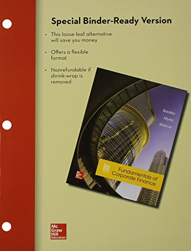 9781259380440: Loose Leaf Fundamentals of Corporate Finance with Connect Access Card