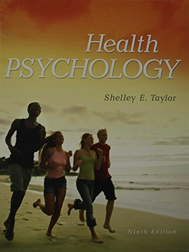 Health Psychology with Connect Access Card: Shelley Taylor