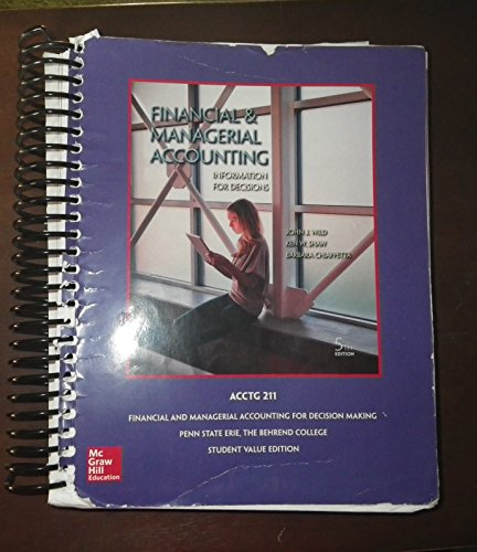 9781259382888: Financial & Managerial Accounting