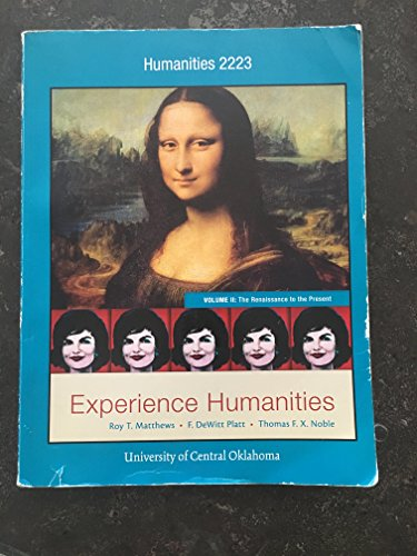 9781259385858: Experience Humanities V2 with readings for University of Central Oklahoma