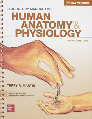 9781259385889: Combo: Lab Manual for Human Anatomy & Physiology, Cat Version with PhILS 4.0 Access Card