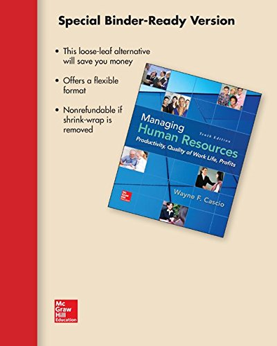 9781259389801: Loose-Leaf for Managing Human Resources