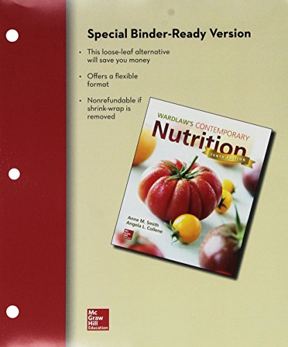 9781259390470: Loose Leaf Version of Contemporary Nutrition with Connect Access Card