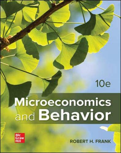 9781259394034: Microeconomics and Behavior