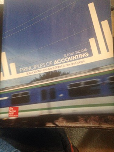 9781259395253: Principles of Accounting, Financial and Managerial Accounting, Inofrmation for Decisions, Special Edition for Lawson State Community College