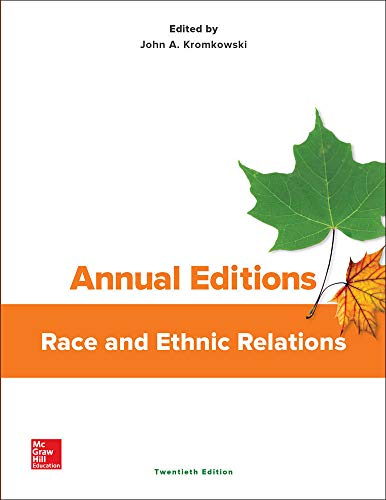 9781259395734: Annual Editions: Race and Ethnic Relations, 20/e
