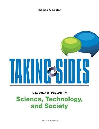 9781259398940: Taking Sides: Clashing Views in Science, Technology, and Society