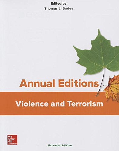 9781259400087: Annual Editions: Violence and Terrorism, 15/e