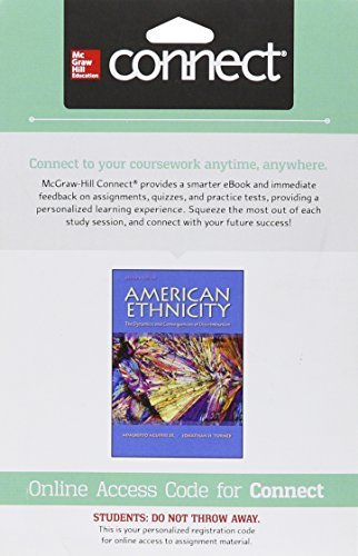 9781259403866: Connect Access Card for American Ethnicity: The Dynamics and Consequences of Discrimination