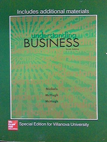 9781259406010: Understanding Business Special Edition for Villanova University