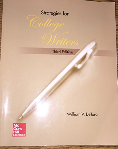 9781259406041: Strategies for College Writers Third Edition