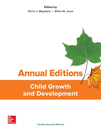 9781259406195: Annual Editions: Child Growth and Development, 22/e