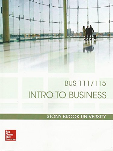 9781259412486: Understanding Business: 10th Edition (BUS 111/115 Intro to Business, Stony Brook University)