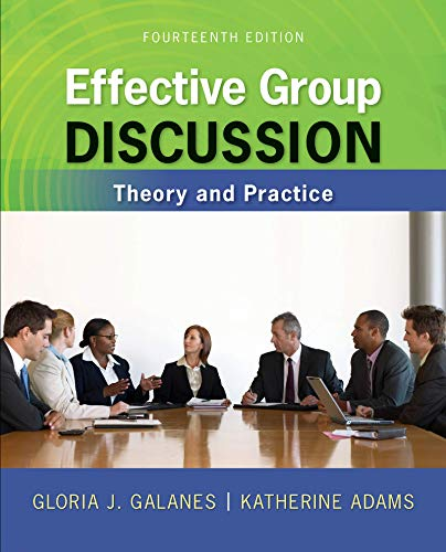 9781259414398: Looseleaf for Effective Group Discussion: Theory and Practice