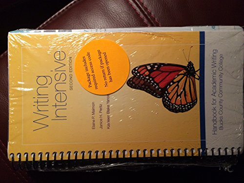 9781259414701: Writing Intensive, Second Edition