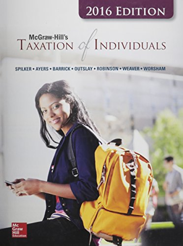 9781259415500: McGraw-Hill's Taxation of Individuals, 2016 Edition