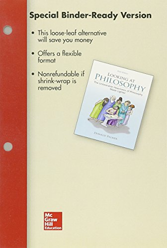 9781259416293: Looseleaf for Looking At Philosophy: The Unbearable Heaviness of Philosophy Made Lighter