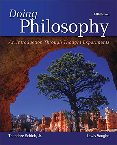 9781259416491: Looseleaf for Doing Philosophy: An Introduction Through Thought Experiments