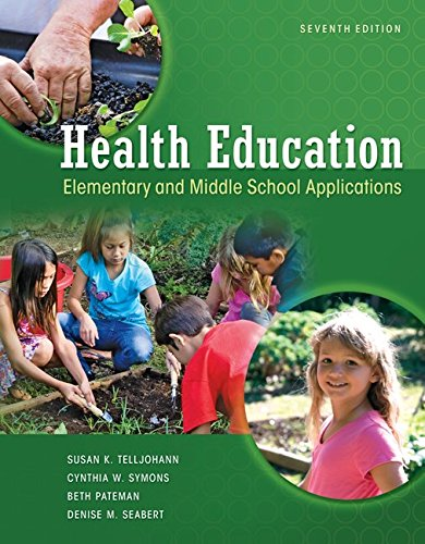 9781259416873: Looseleaf for Health Education: Elementary and Middle School Applications