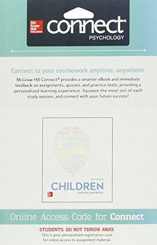 9781259421037: Connect Access Card for Children