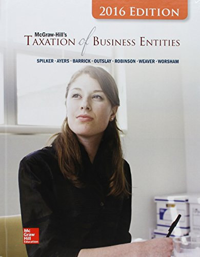 9781259421211: McGraw-Hill's Taxation of Business Entities, 2016 Edition