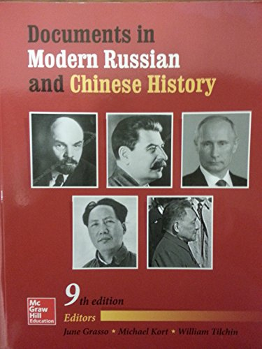 9781259421754: Documents in Modern Russian and Chinese History