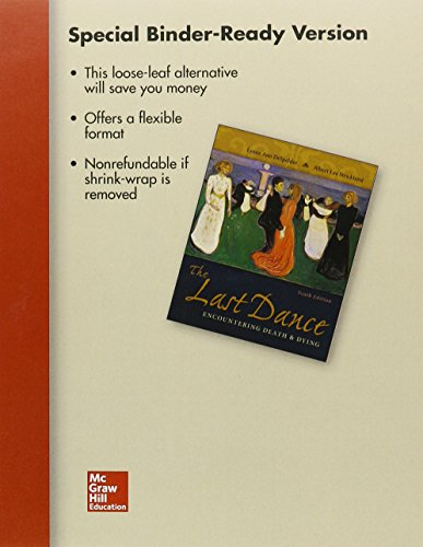 9781259428548: Loose Leaf for The Last Dance with Connect Access Card
