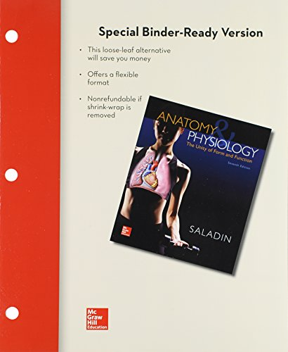 9781259429385: Loose Leaf Anatomy & Physiology: A Unity of Form and Function with Connect and LearnSmart Access Card