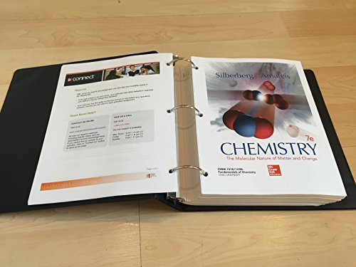 Fundamentals of Chemistry 1510/1520: Silberberg and Amateis