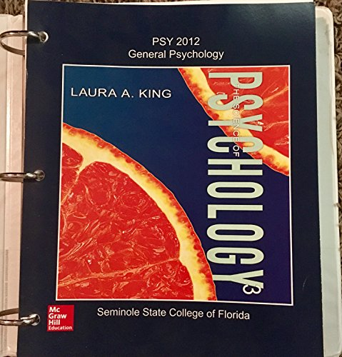 9781259431333: PSY 2012 General Psychology