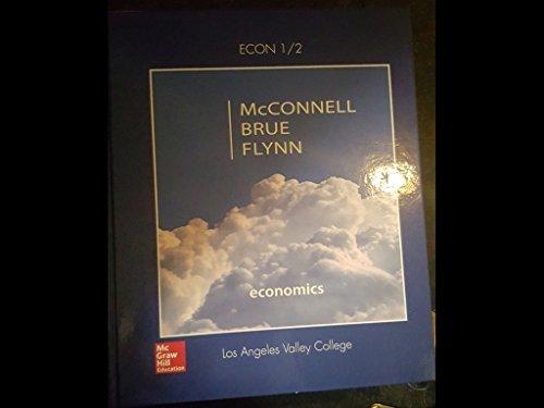 9781259433849: Economics 1/2 Mcconnell Brue Flynn (Los Angeles Students)